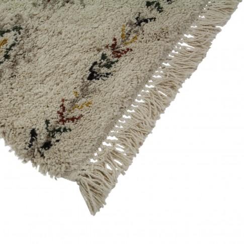 Covor living / dormitor McThree Boho 9043 H901 polipropilena frize, heat-set dreptunghiular crem 160 x 230 cm