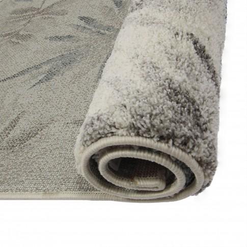 Covor living / dormitor McThree Softness 8695 P301 polipropilena frize, heat-set dreptunghiular crem 80 x 150 cm