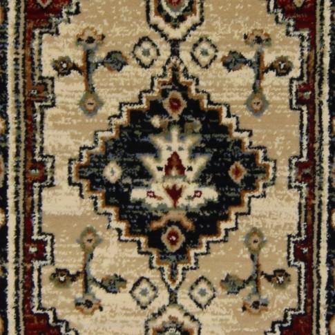 Covor living / dormitor Carpeta Atlas Riv 86881-41745 polipropilena heat-set dreptunghiular caramiziu 60 x 90 cm