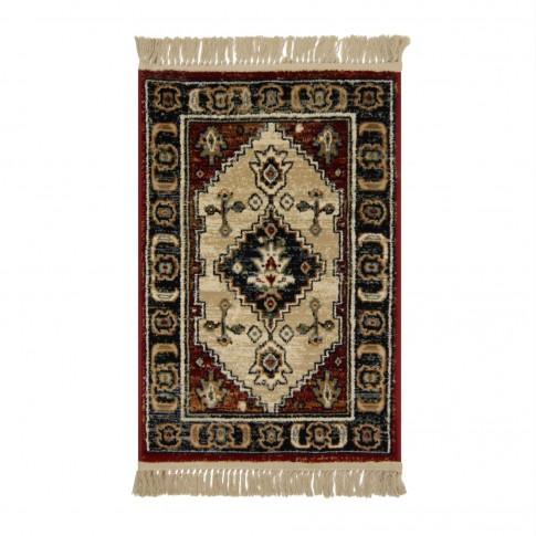 Covor living / dormitor Carpeta Atlas Riv 86881-41745 polipropilena heat-set dreptunghiular caramiziu 120 x 160 cm