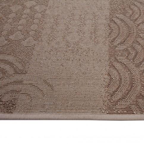 Covor living / dormitor Carpeta Delta 87031-43255 polipropilena heat-set dreptunghiular bej 120 x 170 cm