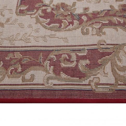 Covor living / dormitor Carpeta Atlas 35482-41335 polipropilena heat-set oval bordo 160 x 230 cm