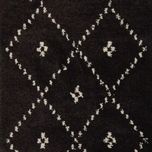 Covor living / dormitor McThree Royal 9550 1H91 polipropilena frize dreptunghiular maro 120 x 170 cm