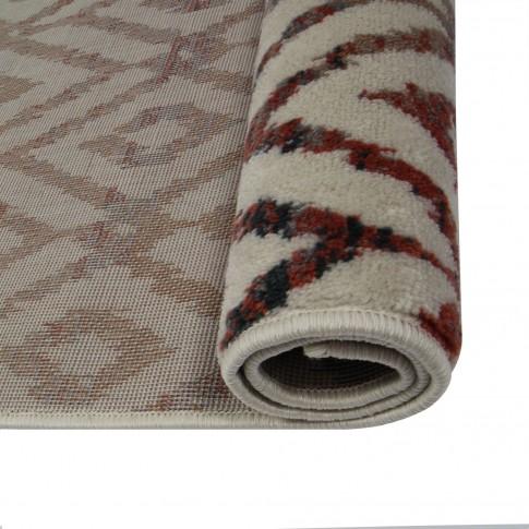 Covor living / dormitor Oriental Weavers Ferrera X 1723/LE9 polipropilena heat-set dreptunghiular multicolor 120 x 170 cm