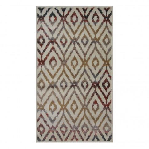 Covor living / dormitor Oriental Weavers Ferrera X 1723/LE9 polipropilena heat-set dreptunghiular multicolor 160 x 235 cm