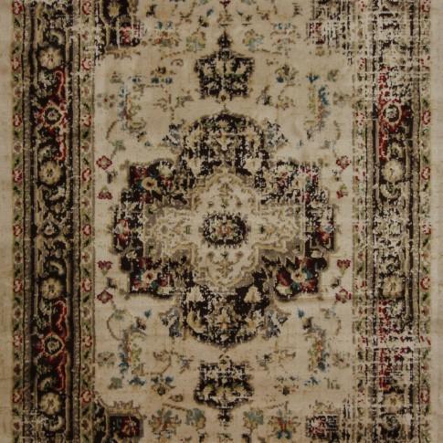 Covor living / dormitor Oriental Weavers Leone W 312/KO3 polipropilena soft, heat-set dreptunghiular bej 80 x 140 cm