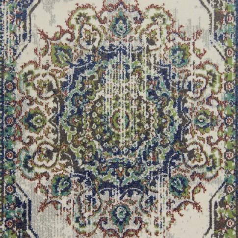 Covor living / dormitor Oriental Weavers Luka B 3901/JG4 polipropilena frize dreptunghiular gri 160 x 235 cm