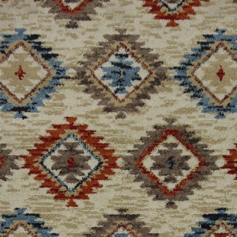 Covor living / dormitor Oriental Weavers Nevada W 530/DW6 polipropilena frize multicolor 80 x 140 cm