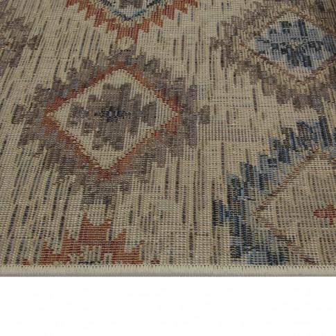 Covor living / dormitor Oriental Weavers Nevada W 530/DW6 polipropilena frize multicolor 120 x 170 cm