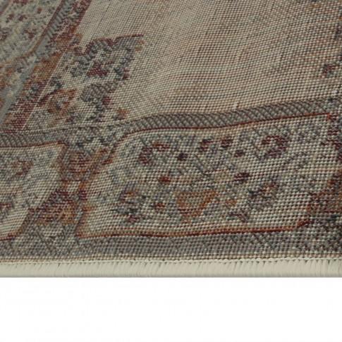Covor living / dormitor Oriental Weavers Satchi W 1331/GB4 polipropilena heat-set dreptunghiular bej 80 x 140 cm