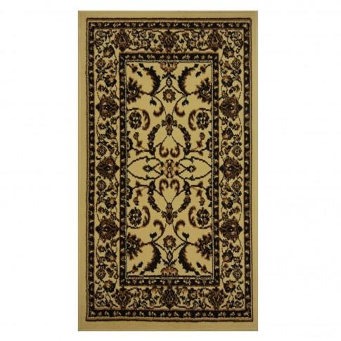 Covor living / dormitor Oriental Weavers Pronto W 33/X88 polipropilena dreptunghiular crem 80 x 140 cm