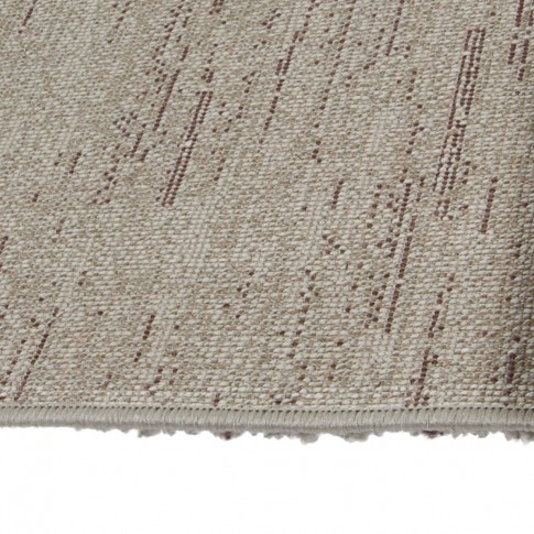 Covor living / dormitor McThree Softness 8769 T974 polipropilena frize, heat-set dreptunghiular mov+crem 160 x 230 cm