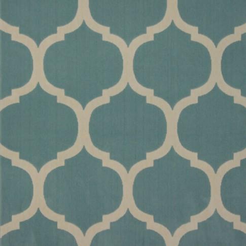 Covor living / dormitor Canvas 18218-631 polipropilena soft albastru turcoaz 140 x 200 cm
