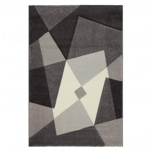 Covor living / dormitor Sintelon Illusion 35GVG polipropilena dreptunghiular gri 80 x 150 cm