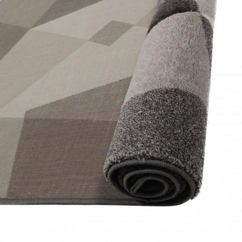 Covor living / dormitor Sintelon Illusion 35GVG polipropilena dreptunghiular gri 120 x 170 cm