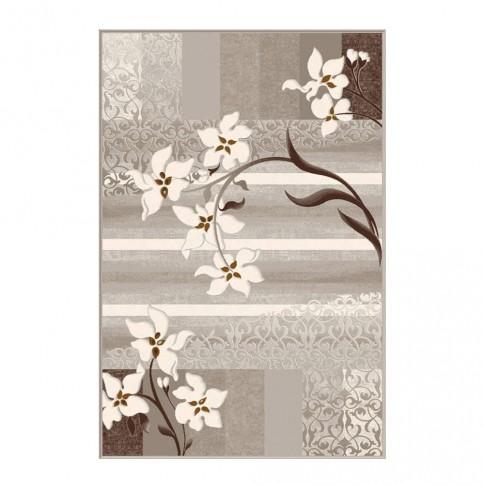 Covor living / dormitor Carpeta Delta 39721-43255 polipropilena heat-set dreptunghiular bej 60 x 110 cm