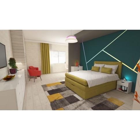 Covor living / dormitor Sintelon Vegas Home 30 BYY polipropilena dreptunghiular gri 80 x 150 cm