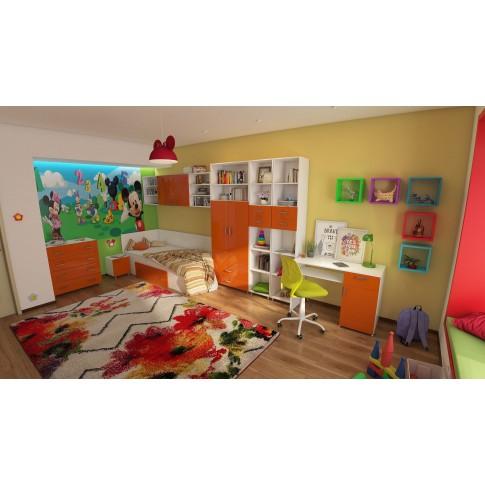 Covor living / dormitor McThree Swing 7554 3P01 polipropilena frize, heat-set dreptunghiular crem 60 x 110 cm