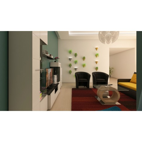 Covor living / dormitor McThree Modena 7835 H779 polipropilena dreptunghiular bordo 120 x 170 cm