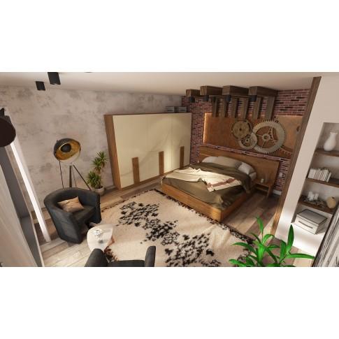 Covor living / dormitor McThree Royal 7948 H901 polipropilena dreptunghiular crem 160 x 230 cm