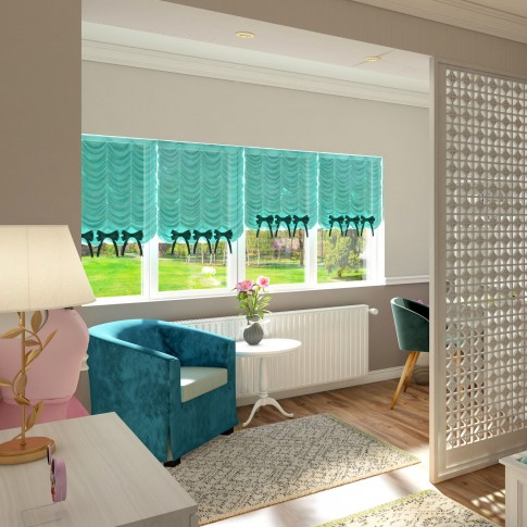 Covor living / dormitor McThree Swing 8683 3P16 polipropilena frize, heat-set dreptunghiular crem 160 x 230 cm