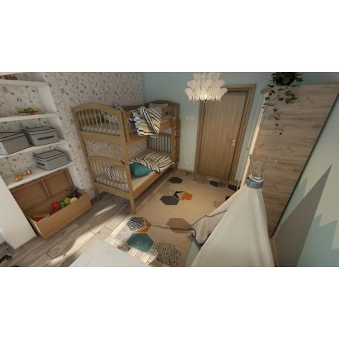Covor living / dormitor Canvas 18277-061 polipropilena soft crem 200 x 290 cm