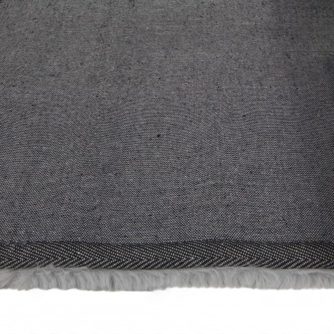 Covor living / dormitor Chip Pes 18229 poliester dreptunghiular gri deschis 80 x 150 cm
