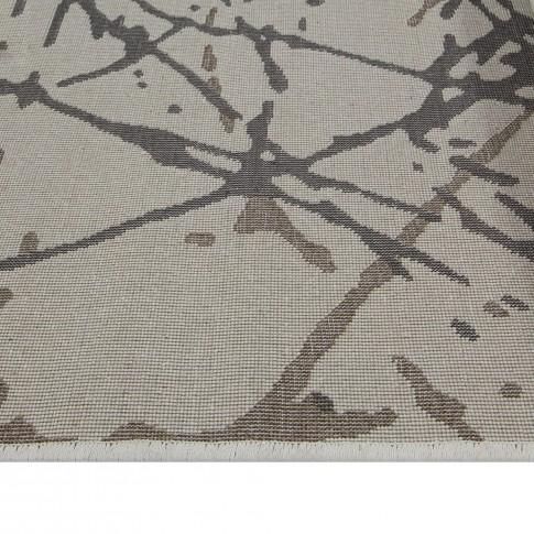 Covor living / dormitor Sintelon Motion 26WOW polipropilena heat-set dreptunghiular gri 80 x 150 cm