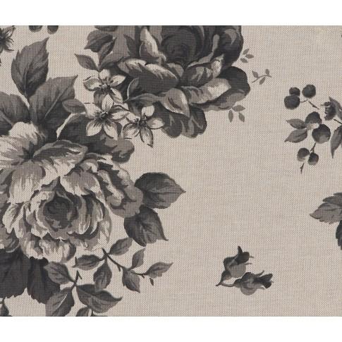 Fotoliu fix Leo, stofa, model floral, 1C