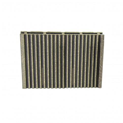 Pardoseala WPC D140X21UG, exterior, gri, 140 x 21 x 4000 mm