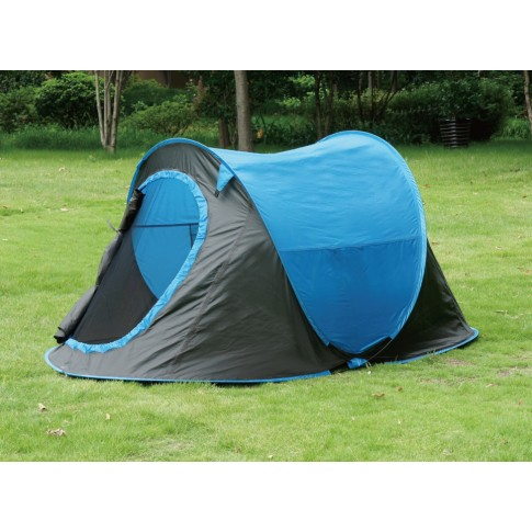 Cort camping, 2 persoane, Pop-up, poliester, 220 x 120 x 95 cm
