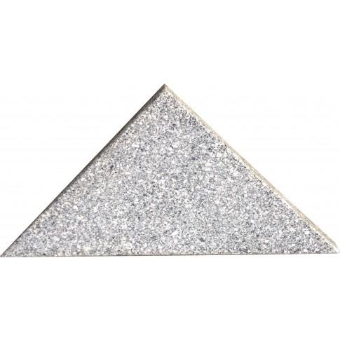 Suport umbrela, granit, forma triunghiulara, 65 x 47 x 4.75 cm