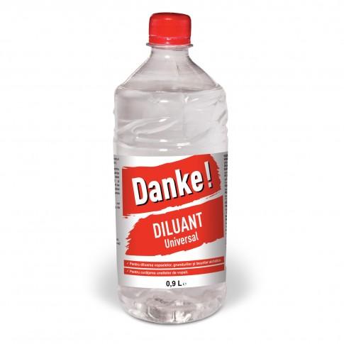 Diluant pentru vopsea / lac alchidic, Danke Universal, 0.9 L