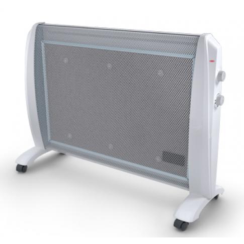 Convector electric radiant Delex DEL-R1-2000, 2 trepte, 2000 W, 800 x 235 x 520 mm, functie anti-inghet