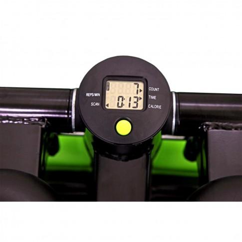 Ministepper cu corzi DHS Fitness 5001, max 120 kg