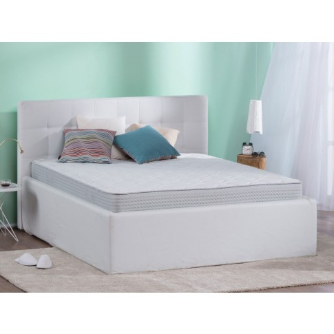 Saltea pat Dormeo Fresh Prima, ortopedica, cu spuma memory, cu arcuri din spuma, 90 x 200 cm
