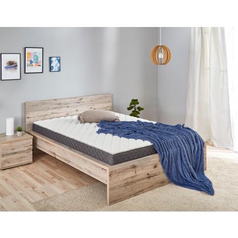 Saltea pat Dormeo Options Silver, cu spuma Ecocell + Formacell, cu arcuri, 160 x 200 cm
