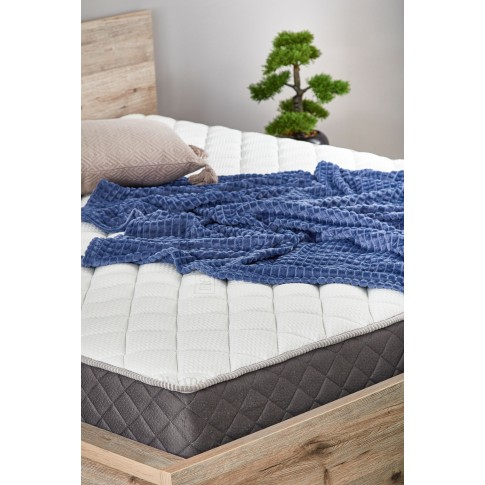 Saltea pat Dormeo Options Silver, cu spuma Ecocell + Formacell, cu arcuri, 90 x 190 cm