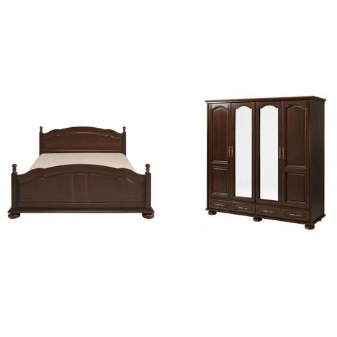 Dormitor Berry, pat + dulap, nuc, 6C