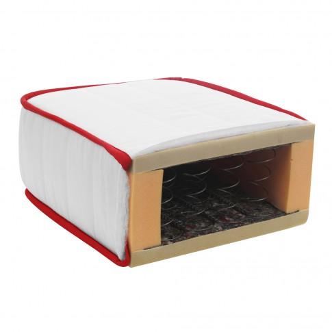 Saltea pat Bien Dormir Ecostar Red, ortopedica, cu arcuri, 120 x 200 cm