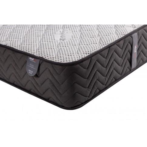Saltea pat Ideal Sleep Elite, 1 persoana, superortopedica, cu spuma poliuretanica + arcuri, 120 x 190 cm