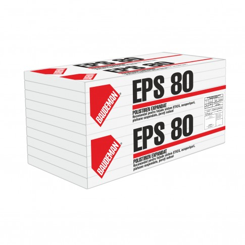 Polistiren expandat Baudeman EPS 80, 10 cm