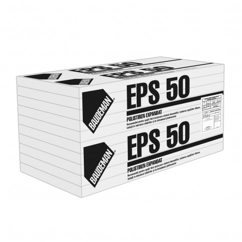 Polistiren expandat Baudeman EPS 50, 10 cm