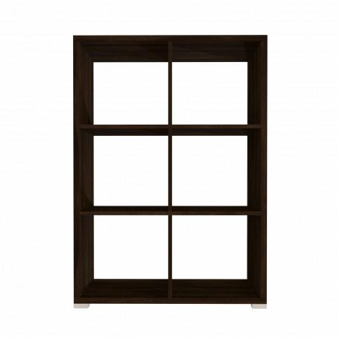 Etajera 4, PAL, sonoma dark, 76.5 x 33.5 x 115 cm, 3C