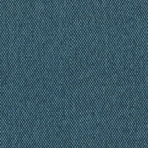 Pat dormitor Sole, o persoana, tapitat, pe dreapta, cu lada, crem + albastru, 80 x 190 cm, 2C