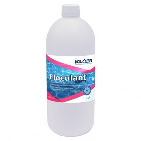 Floculant lichid Kloer, pentru apa piscina, 1l