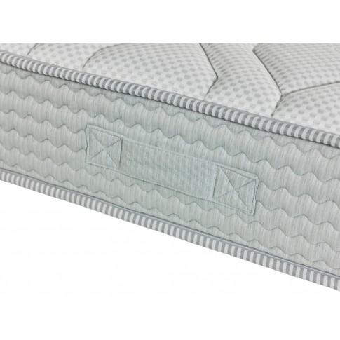 Saltea pat Dormeo Fresh Prima II, cu spuma memory + Ecocell, cu arcuri din spuma, 160 x 200 cm