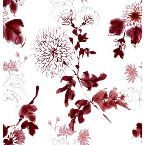 Bucatarie Nemira, alb + negru lucios + print P25, 263.5 cm, 9C