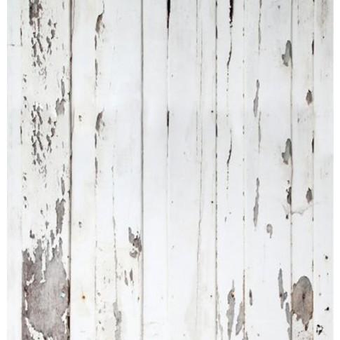 Bucatarie Nemira, alb + maro lucios + print P32, 263.6 cm, 9C
