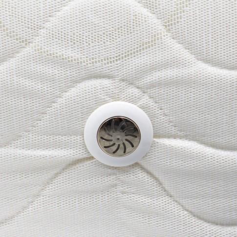 Saltea pat Gama Ortopedic, 90 x 190 cm, 1 persoana, cu arcuri + spuma poliuretanica